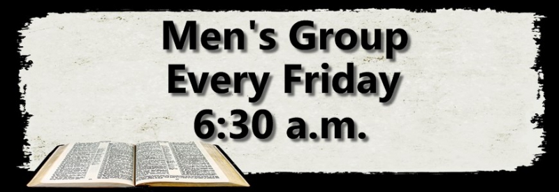 mens group weekly events